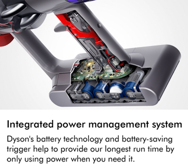 Dyson V11 ABSEXTRA Power Management