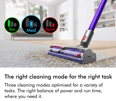 Dyson V11 Three Cleaning Modes